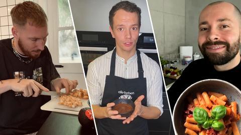 Hugel, Alle Farben und David Puentez kochen
