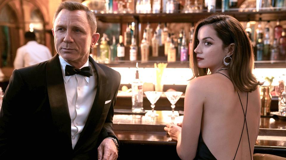 Szene aus dem neuen Film James Bond - Keine Zeit zu sterben