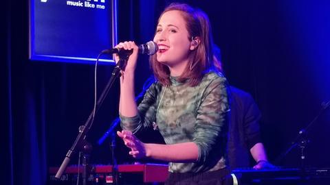 Alice Merton Release Party im Hessischen Rundfunk