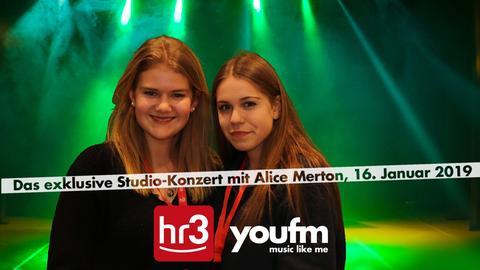 Das exklusive Studio-Konzert mit Alice Merton von YOU FM und hr3