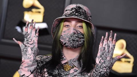 Billie Eilish bei der Grammy-Verleihung 2020