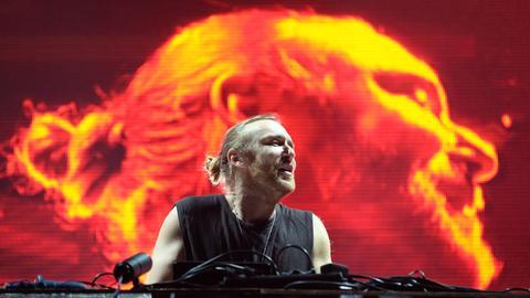 David Guetta live 2015