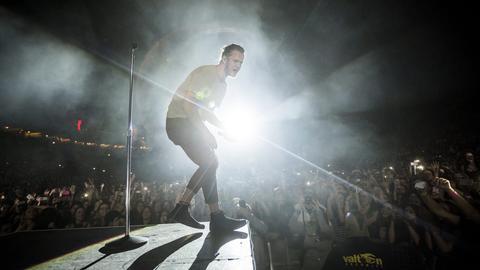 Imagine Dragons Sänger Dan Reynolds live