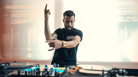 DJ Steph auf dem Hessentag