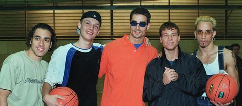 Backstreet Boys Damals