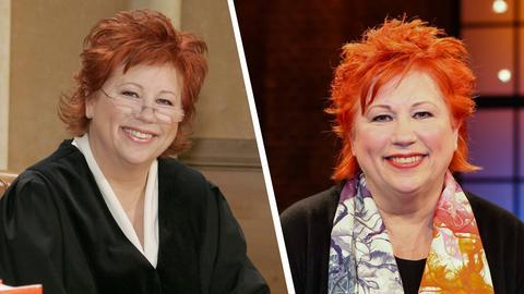 Barbara Salesch, früher und heute