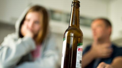 Alkohol Bierflasche
