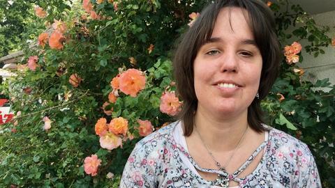 Verena aus Marburg ist blind