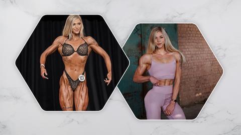 Bodybuilderin Larissa Reinelt