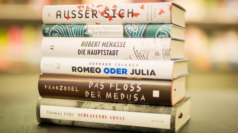 Buchmesse 2017 Diese Bücher sind für den Deutschen Buchpreis 2017 nominiert