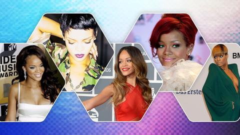 Collage Rihanna