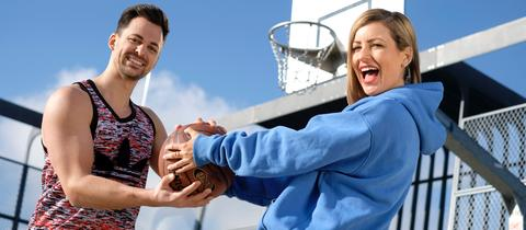 Susanka und Nick Fitness Typen Sport