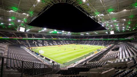 Der Borussia Park in Mönchengladbach