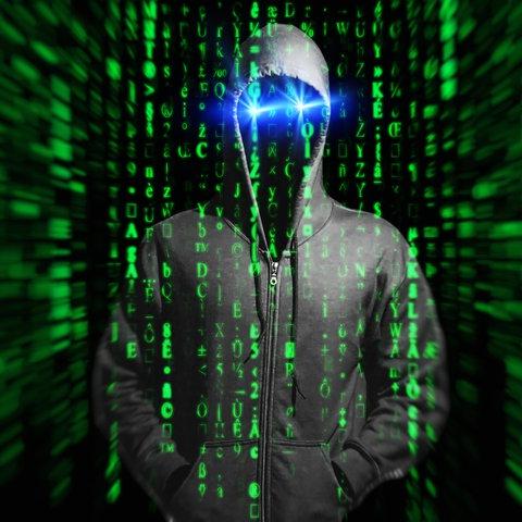Genrebild Hacker