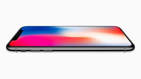 iPhone X von der Seite