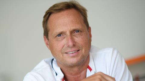 Porträtfoto von Alexander Unglaube - 1. Überlebender einer unverwandten Knochenmarkspende