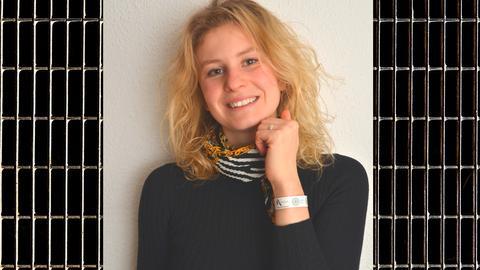 Kim Eisenmann, Erfinderin des k.O.-Tropfen Armbands