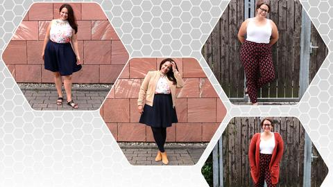 Collage Sommer-Herbst-Mode