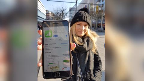 Marie, 20 Jahre aus Frankfurt