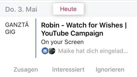 Facebook App Local Screenshots
