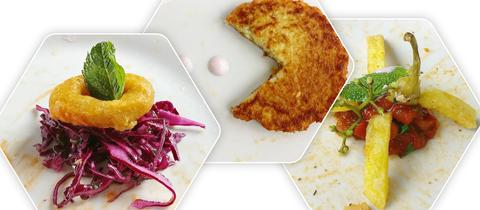 Instagramkanal aus Essensresten Mensa Uni Kassel