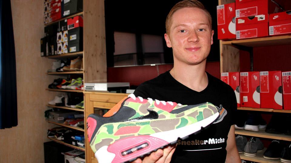 Micha Sneaker Sammler aus Langen: Schuhe als Wertanlage