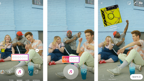 Neue Instagram-Funktion: Musik in Stories