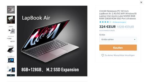"Laptop ""Lapbook Air"" Wish"