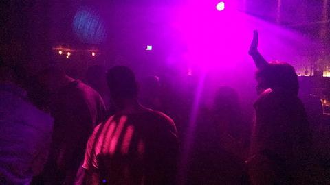 Feiernde auf der Tanzfläche