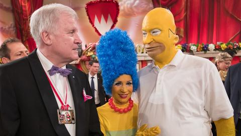 Horst Seehofer oder Homer Simpson