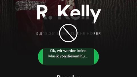 Künstler auf Spotify blockieren