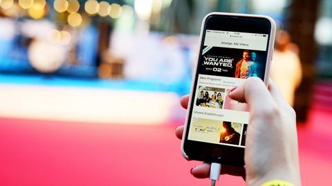 Amazon Prime auf dem Smartphone