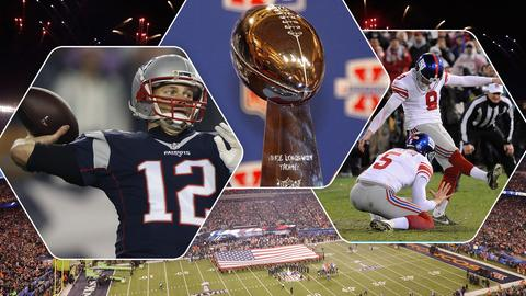 Super Bowl 2018 Collage