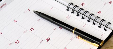 Urlaubsplanung Kalender