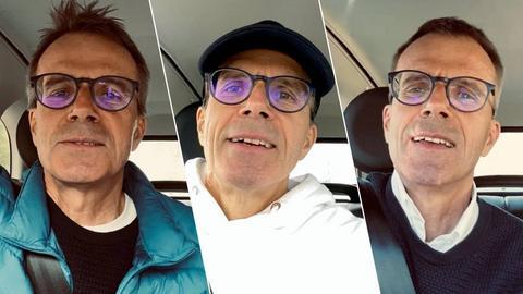 Uwe Baltner macht auf seinem Instagram-Kanal Car-Karaoke