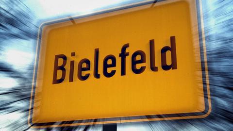 Straßenschild von Bielefeld
