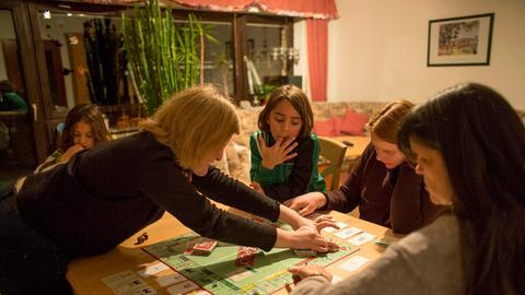 Familienalltag im Haus von Wencke und Metin