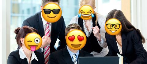 Welt-Emoji-Tag