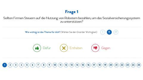 Screenshot yourvotematters.eu