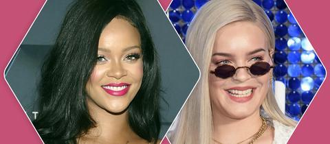 Rihanna und Anne-Marie