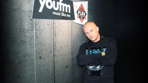 Olexesh zu Gast bei YOU FM featuring FLEX FM