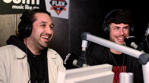Tiavo zu Gast bei YOU FM featuring FLEX FM