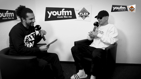 Simon und Trettmann im YOU FM featuring FLEX FM Interview