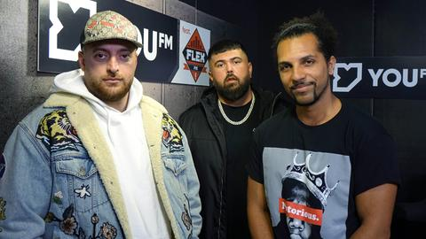 KC Rebell & Summer Cem zu Gast bei YOU FM featuring FLEX FM