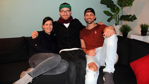 Mark Forster mit Susi und Nick