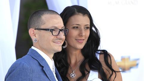 Chester Bennington mit seiner Frau Talinda bei den Billboard Awards 2012