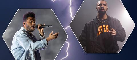 The Weeknd und Drake