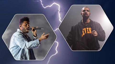 The Weeknd und Drake