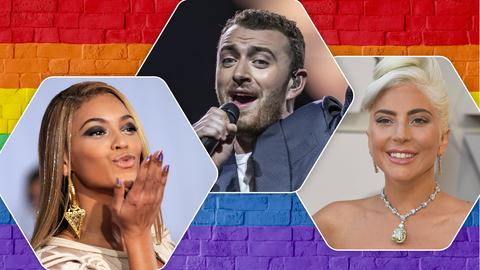 Out and Proud: Playlist-Collage