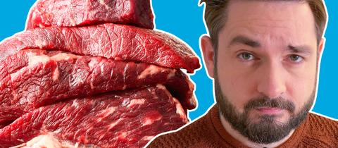 Sebastian ernährt sich 2 Wochen nur von Fleisch